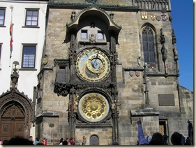 The Prague astronomical clock © Polychronis' Notepad